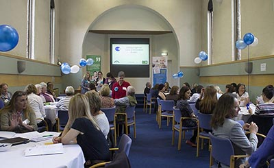 Photo of people at Carers Week event