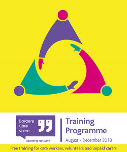 Front cover of new training programme